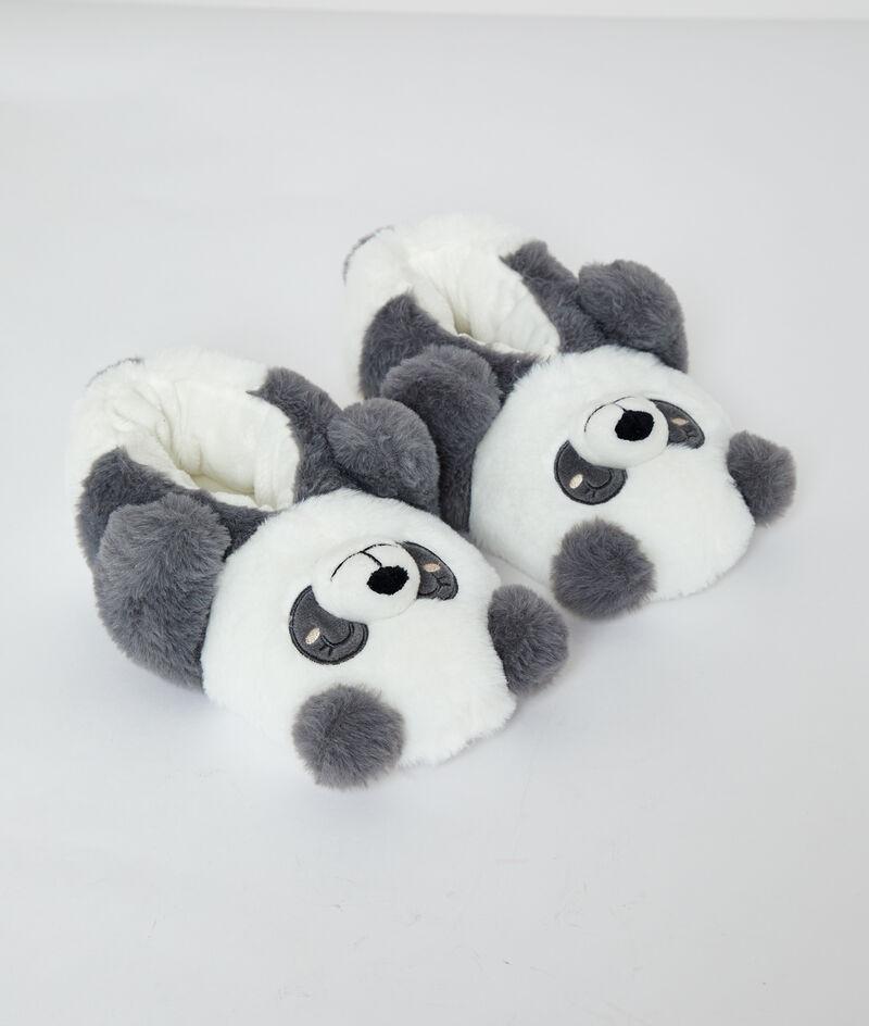 Panda mule slippers;${refinementColor}
