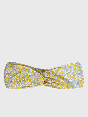 Head band liberty yellow.