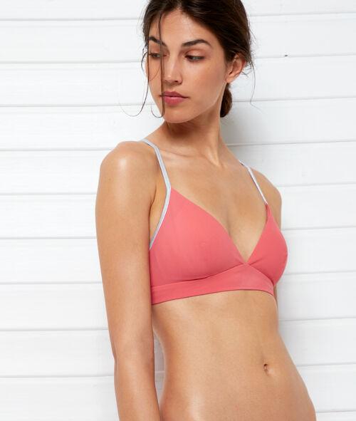 Triangle bikini top, silver details