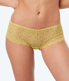 Lace shortys anise.