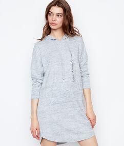 Sweat dress grey.