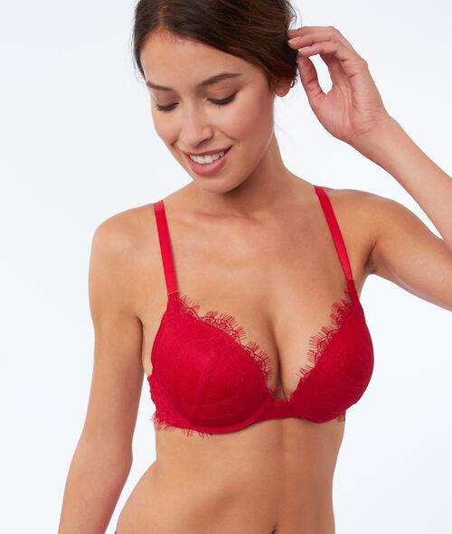 Bra No. 5 - Padded bra with removable choker