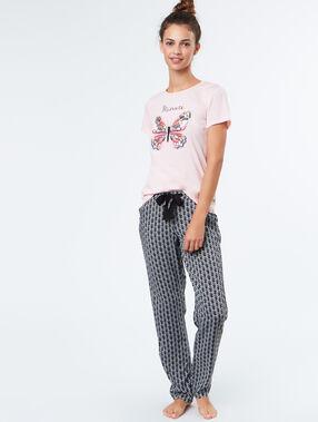 Pyjama top pink.