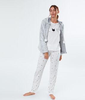 3 pieces pyjama white.