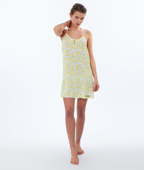 Lemon print nightdress