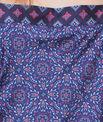 Printed satine top