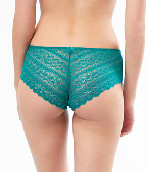 Lace shortys green.