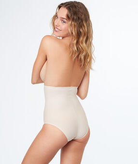 High waist sculpting briefs nude.