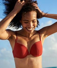 Push up bra red.