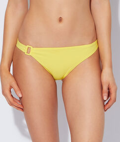 Bikini bottom yellow.