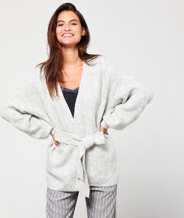 Veste de pyjama à nouer