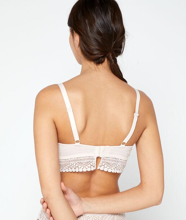 Bra No 5 - lace lightly padded bra;${refinementColor}