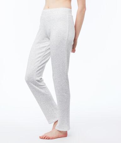 Heathered homewear pants light gray.