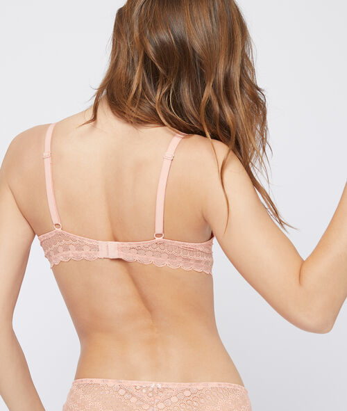 Bra n°2 - lace push up and plunging cut