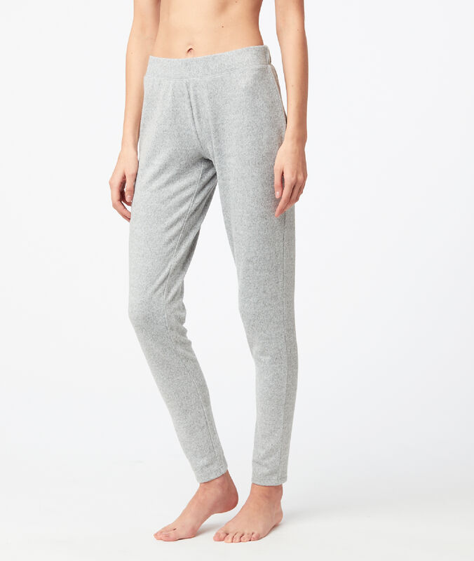 Mottled leggings gray.