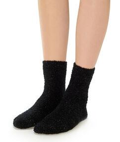 Thick socks black.