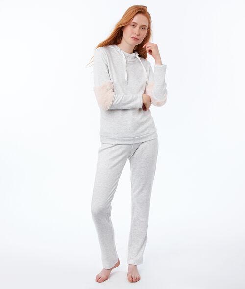 Heathered homewear pants