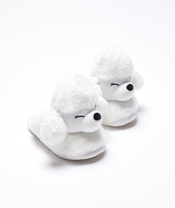 3d poodles slippers