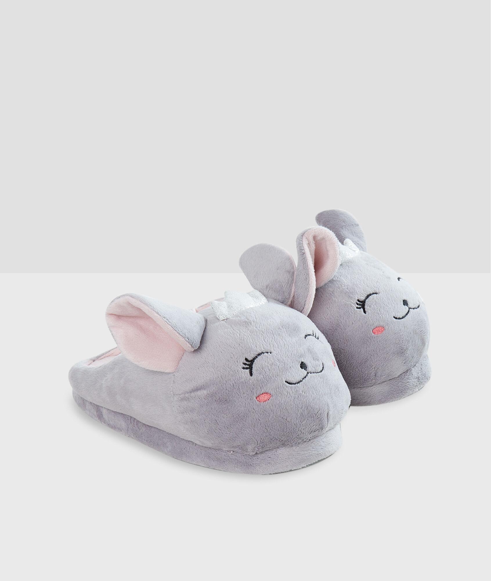 Rabbit Slippers Etam