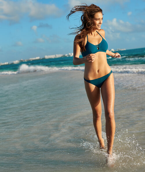 Swimwear triangle bra