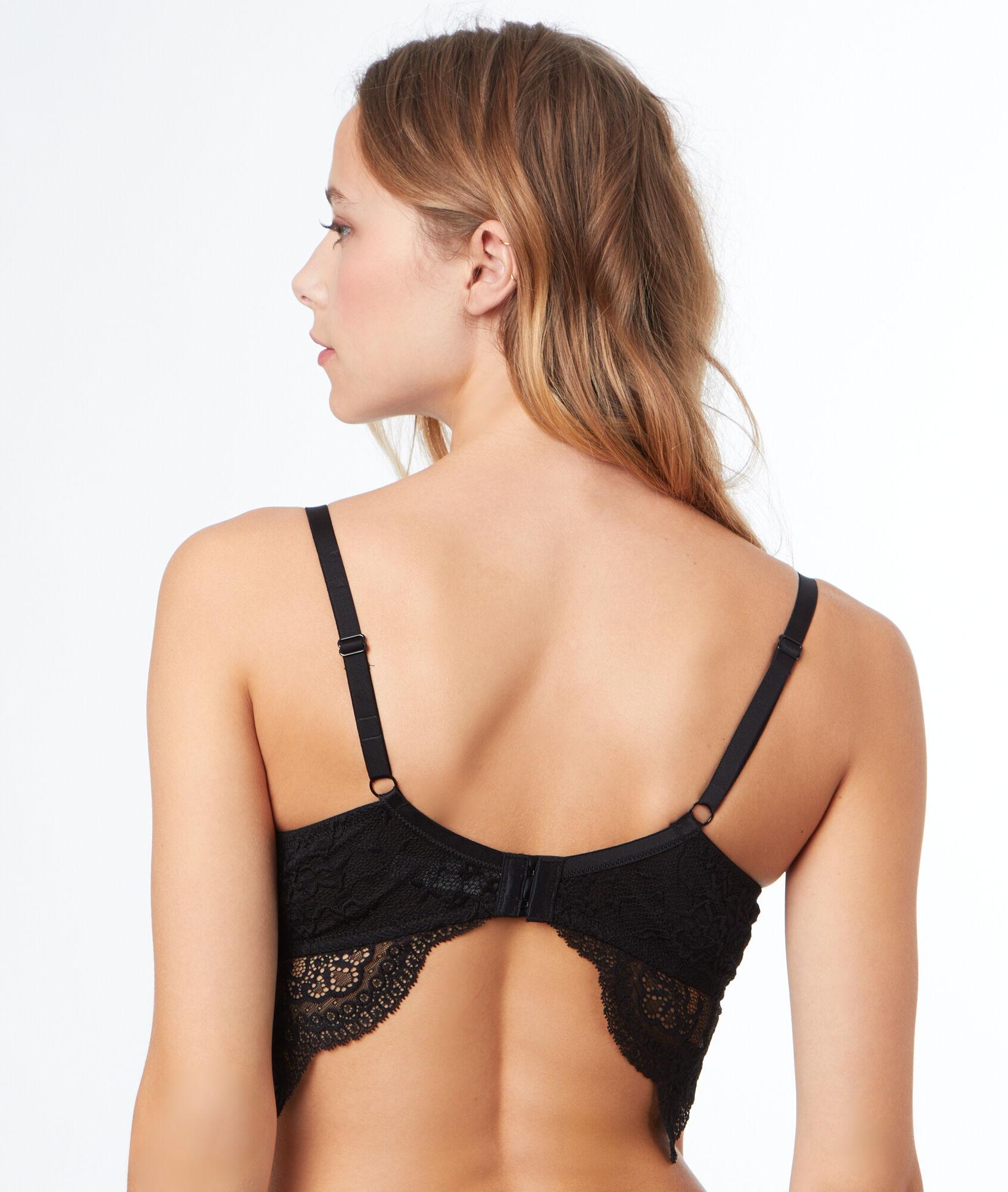 f1c4c2256d5 Bra No. 5 - Classic padded bra with lace underband - Etam