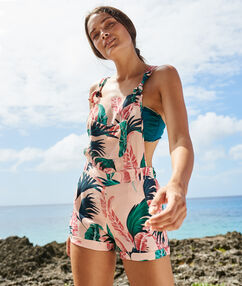Beach playsuit multicolor.