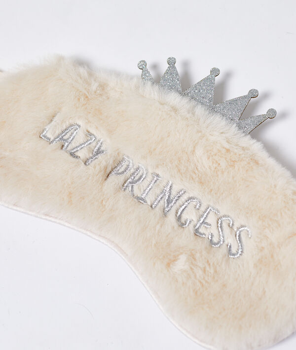 lazy princess' padded sleep mask