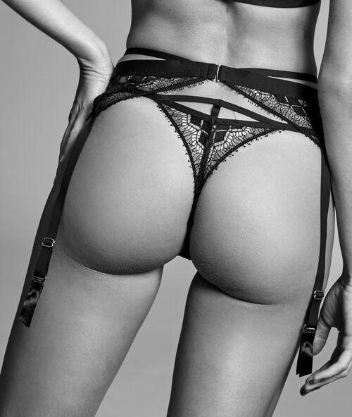 Fine lace garter