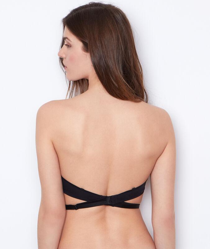 Spalline schiena nuda nero.
