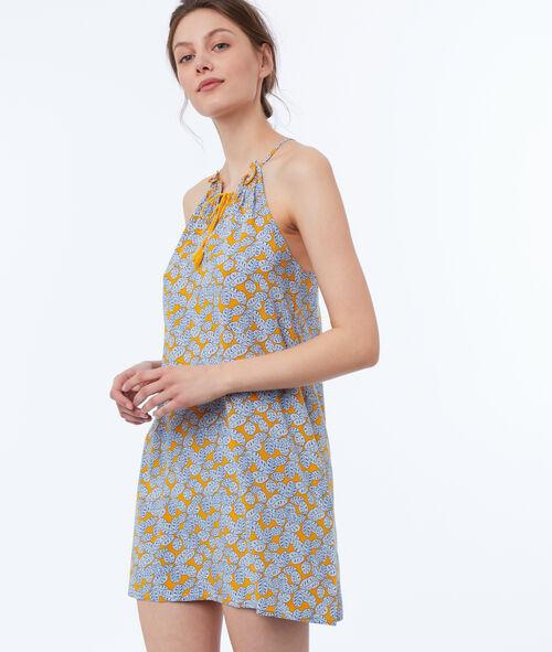 Lace-up nightdress