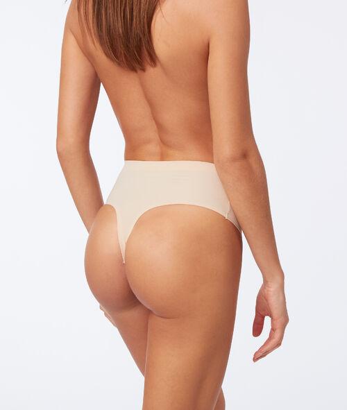 High waist thong: level 3 - figure shaping