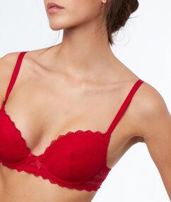 Magic up bra red.