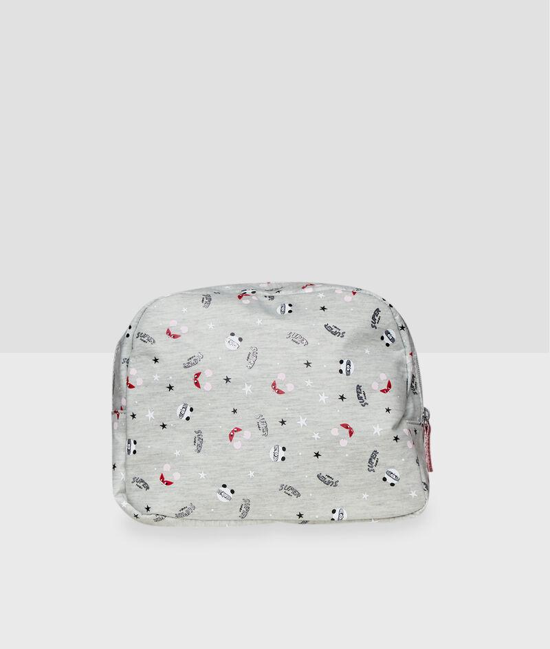 3D ear toiletry bag;${refinementColor}