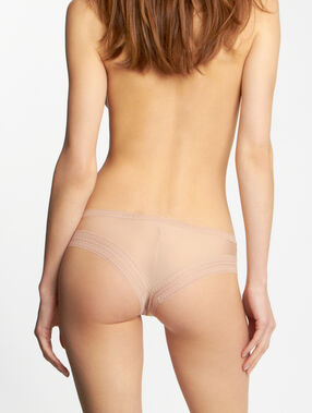 Micro and lace hipster nude.