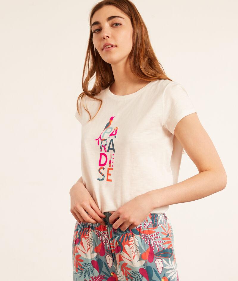 'Paradise' short sleeve top;${refinementColor}