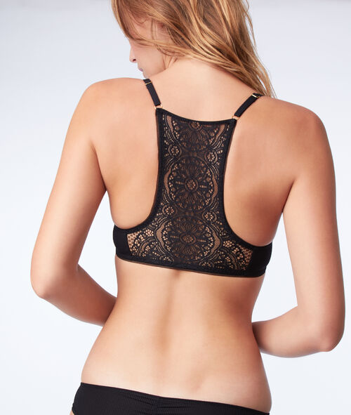 casual shoes online details for Bra n°2 - push-up bra with lace back