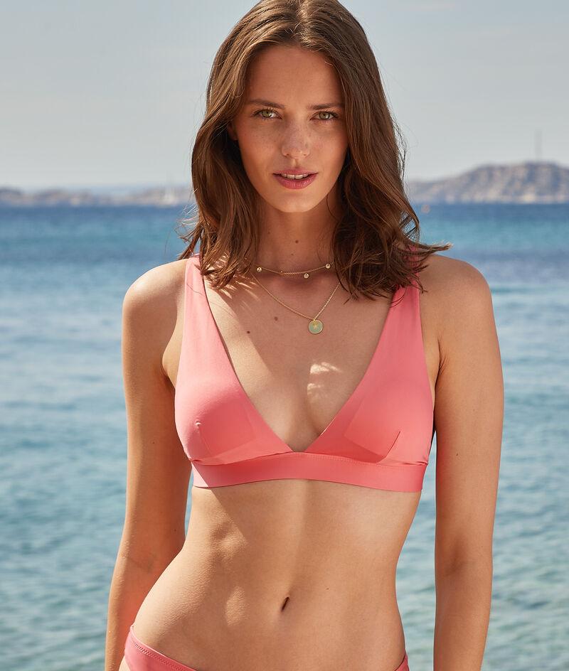 Long triangle wireless bikini top;${refinementColor}