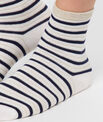 Chaussettes courtes marinières