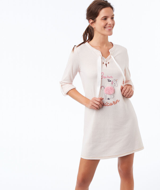 Unicorn nightie pink.