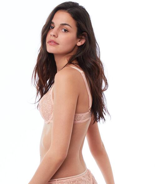 Lace bra, no padding