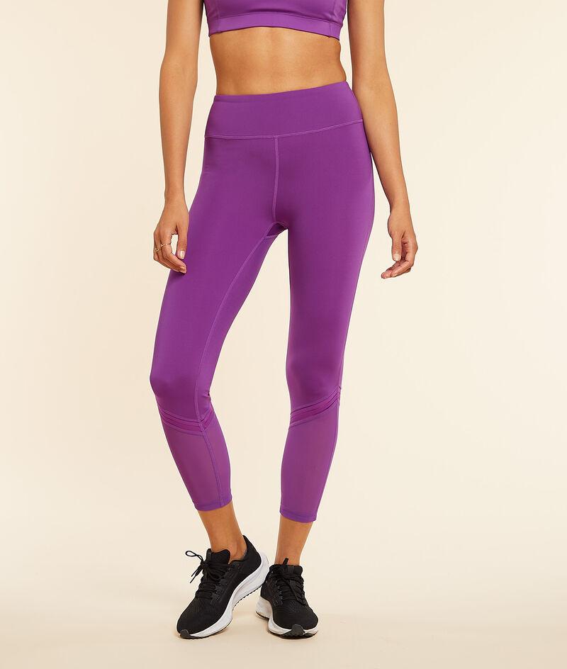 Cropped training leggings;${refinementColor}
