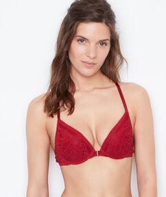 Push-up-bra red.