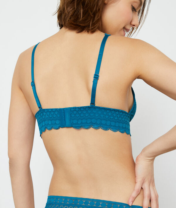 Bra No 8 - triangle bra without underwire, removable pads;${refinementColor}