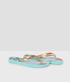 Beachwear shoes multicolor.