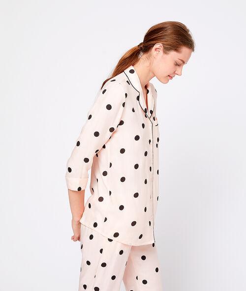 1e478a0147 Polka dot pyjama shirt - Etam