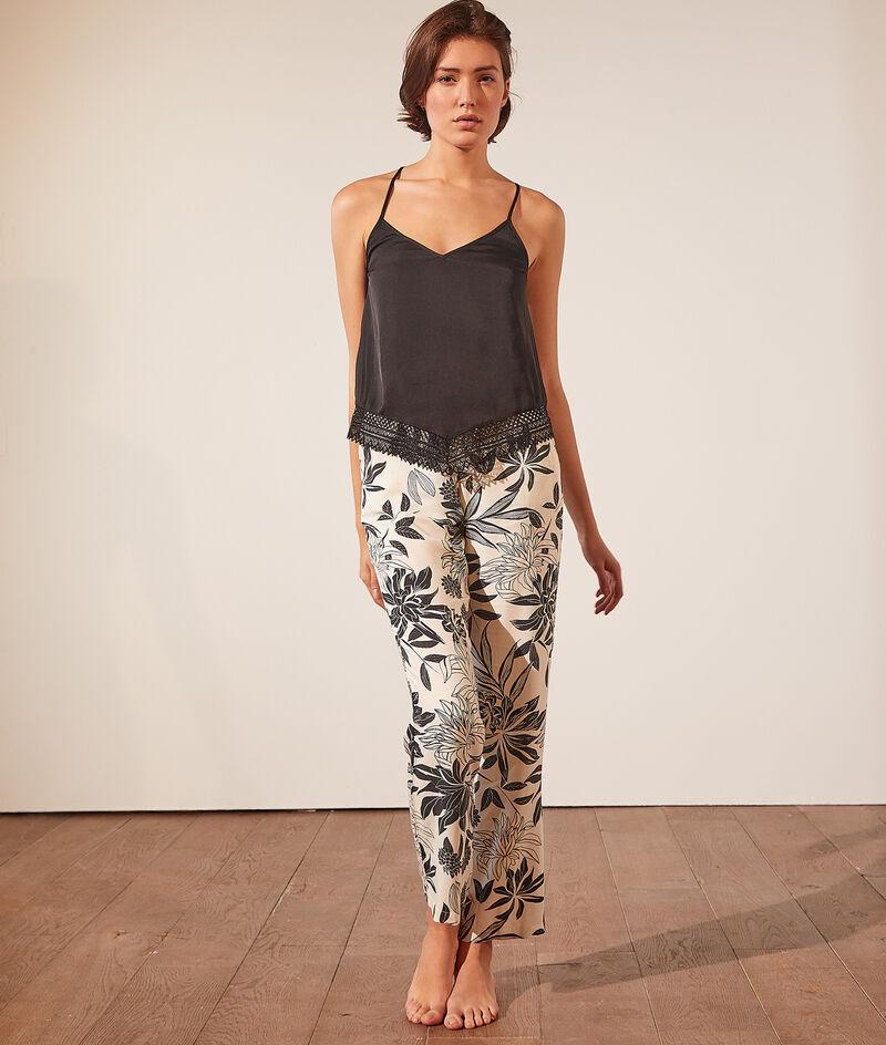Cami with lace details;${refinementColor}