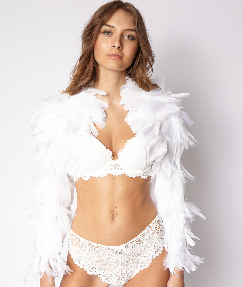 Bra n°5 - classic padded lace bra;${refinementColor}