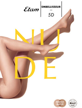 Beautifying, sheer tights, 5d dune.
