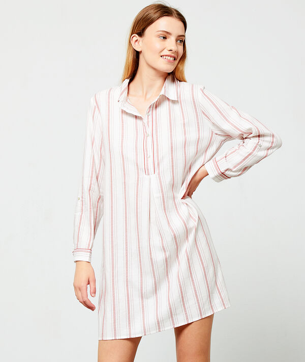 Striped nightshirt