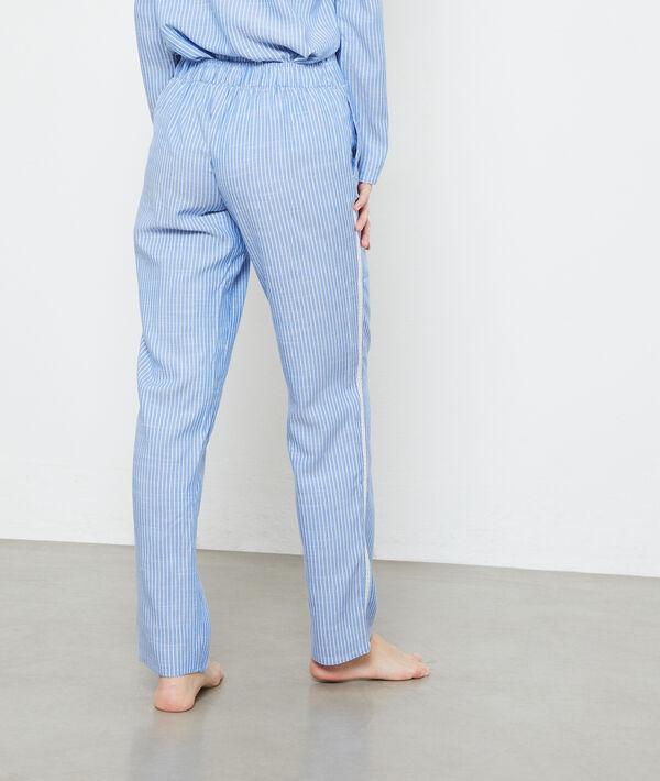 Striped trousers;${refinementColor}